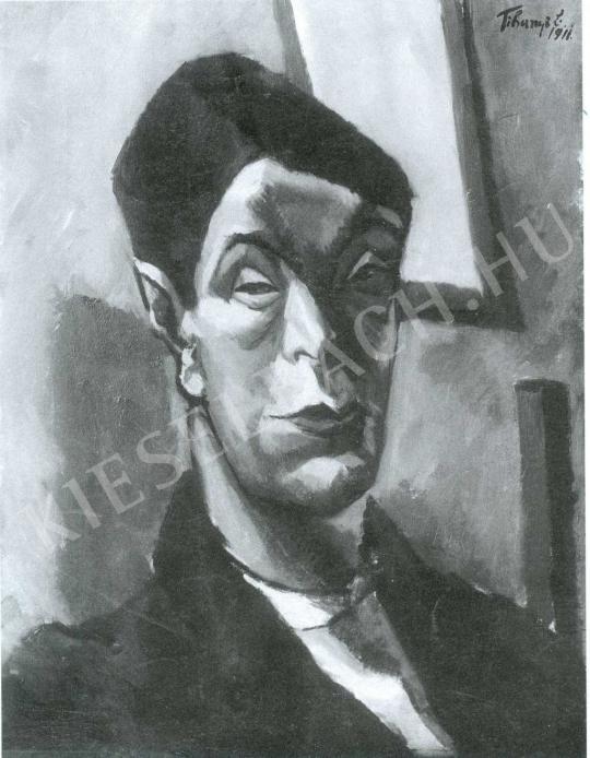 Tihanyi Lajos - Önarckép festménye