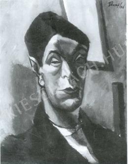 Tihanyi Lajos - Önarckép (1911)