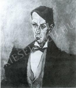Tihanyi Lajos - Kosztolányi Dezső-portré (1914)