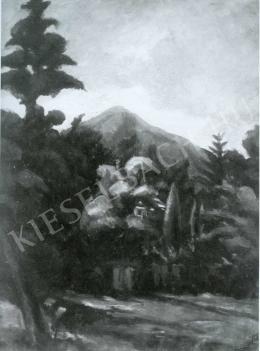 Tihanyi Lajos - Tájkép (1909)