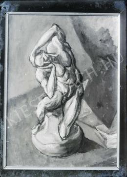 Tihanyi Lajos - Csendélet Michelangelo-szoborral, (1908(?) 1909(?))
