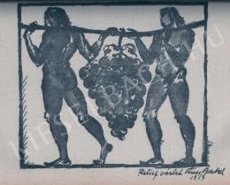 Fémes Beck Vilmos - Relief vázlat, 1913
