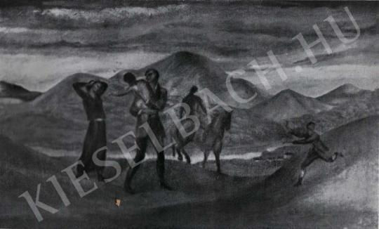 Kernstok Károly - Búcsúzás, 1910-es évek festménye