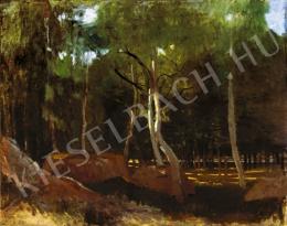 Paál László - Fények az erdőben, 1876 körül