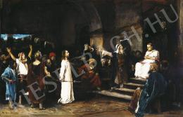 Munkácsy Mihály - Krisztus Pilátus előtt, 1880