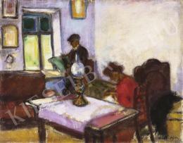Márffy Ödön - Otthon, 1910 körül