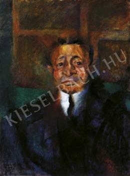 Berény Róbert - Ignotus portréja, 1912