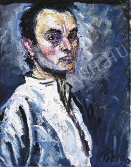 Pór Bertalan - Önarckép, 1912