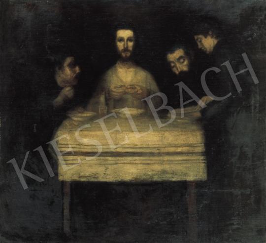 Kernstok, Károly - Dinner in Emmaus | 19th Auction auction / 186 Item
