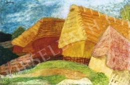 Berény Róbert - Parasztkunyhók, 1932