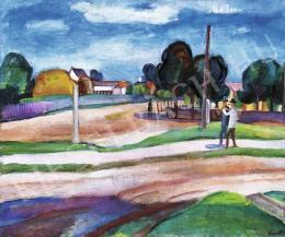 Kmetty János - Szentendre, 1920-as évek vége
