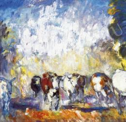 Iványi Grünwald Béla - Hazafelé (Tehenek), 1929