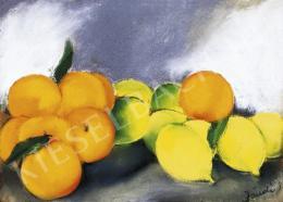 Jándi Dávid - Csendélet narancsokkal és citromokkal, 1930 körül
