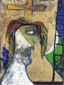 Bálint Endre - Feszület (Krisztus) (1947)