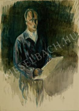 Bernáth, Aurél - Self Portrait (1942)