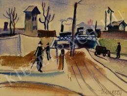Kmetty, János - At the Railways, 1930s