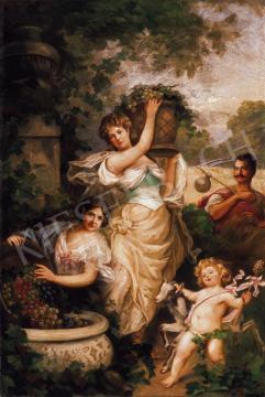 Ismeretlen festő - Szőlőszüret | 19. Aukció aukció / 191 tétel