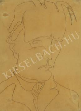 Bernáth, Aurél - Self-Portrait, 1942
