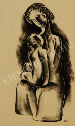Kádár, Béla - Mother with her Child
