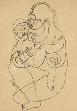 Kádár Béla - Anya gyermekével