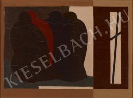 Barcsay Jenő - Elmúlás (A Gond című mű változata), 1975