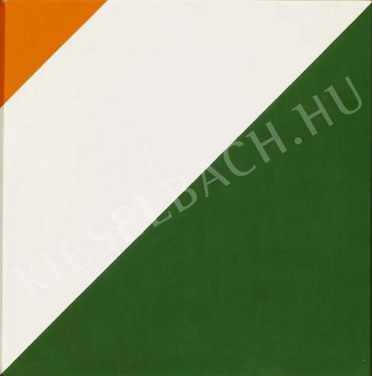 Korniss Dezső - Zászló triptichon III., 1972 festménye