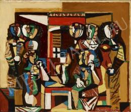 Barcsay Jenő - Mozaik-terv, 1963