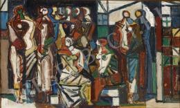 Barcsay Jenő - Bozzetto per Composizione (1963)