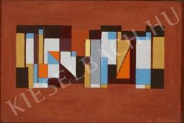 Barcsay Jenő - Kompozíció, 1971