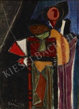 Bálint Endre - Interieur csendélettel (1947)