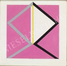 Korniss, Dezső - Pink head, c. 1976
