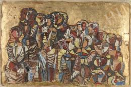 Barcsay, Jenő - Mosaic study, 1963