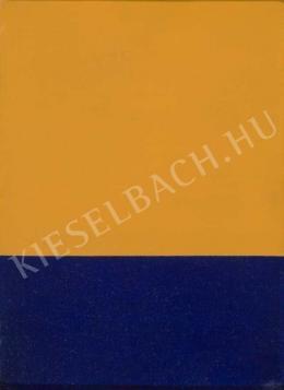 Korniss Dezső - Narancs és kék, 1954