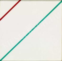 Korniss Dezső - Zászló triptichon II., 1972