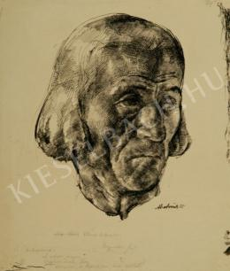 Aba-Novák, Vilmos - Portrait of an Old Man