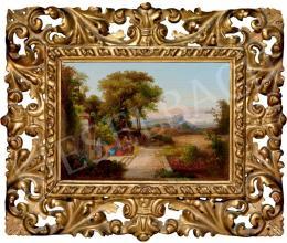 Id. Markó, Károly sr. - Scene in Italian Landscape