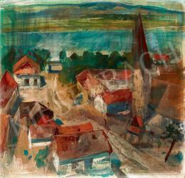 Szőnyi István - Zebegény háttérben a Dunával (1930)