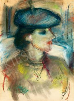 Czóbel Béla - Párizsi nő
