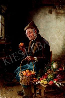 Kern Hermann - Gyümölcsárus (1904)