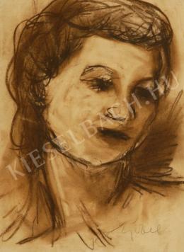 Czóbel Béla - Női fej