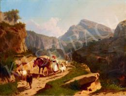Markó András - Itáliai táj (1869)
