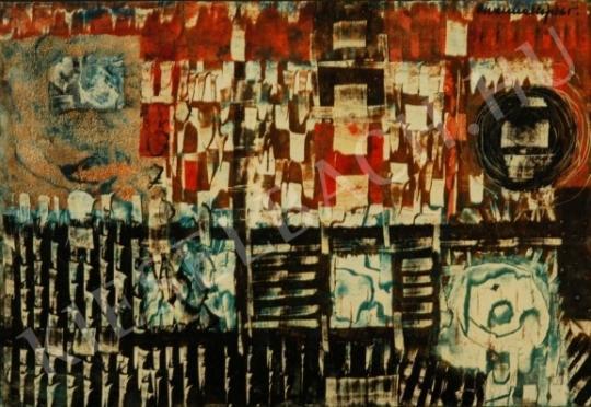 Gyarmathy, Tihamér - Rythm painting