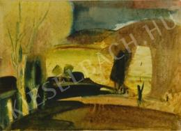 Hincz, Gyula - Landscape with Hills (1942)