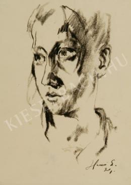 Holló László - Fiatal fiú arcképe
