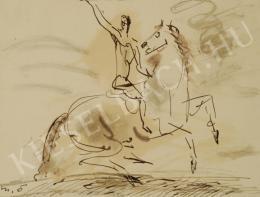 Márffy Ödön - Vágtázó lovas
