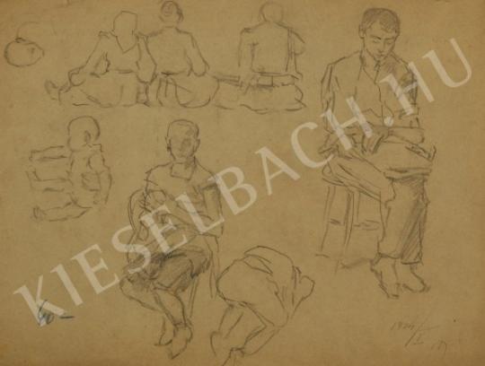 Márk Lajos - Gyerekek festménye