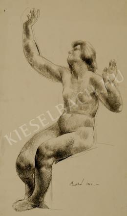 Patkó Károly - Érzékenység (Női akt) (1924)