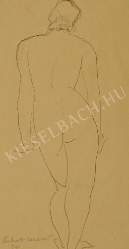 Perlrott Csaba, Vilmos - Female Nude (1940)