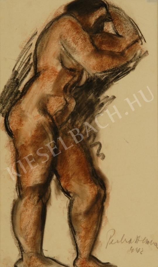 Perlrott Csaba, Vilmos - Female Nude painting