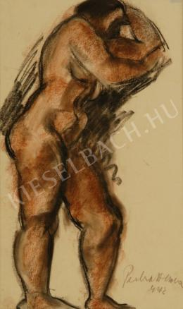 Perlrott Csaba, Vilmos - Female Nude (1942)